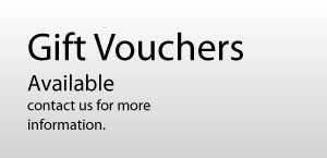Gift vouchers available.